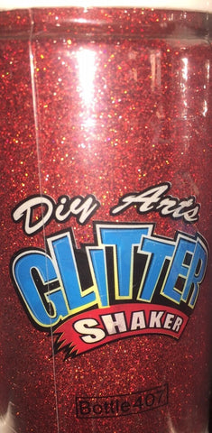 8oz Glitter Holographic Red (Each)