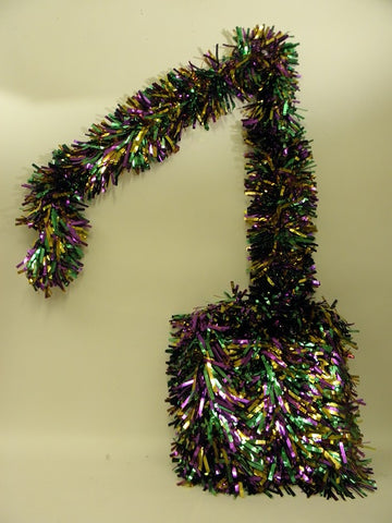 "Purple, Green, and Gold 6-Ply Garland 7"" x 25' (Each)"