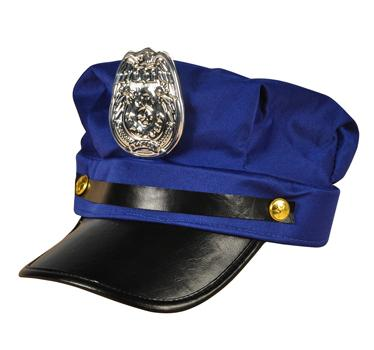 Police Cap - Adult (Each)