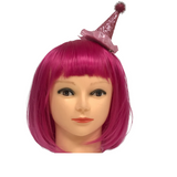 Pink Party Hat - Clip-On (Each)