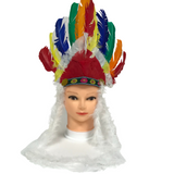 Indian Feather Head Piece (Each)