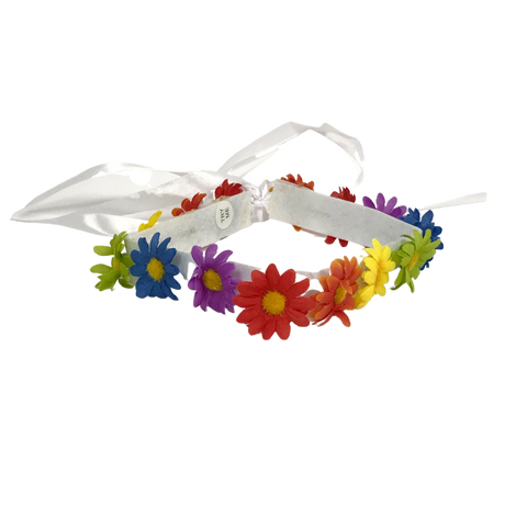 Multicolor Floral Headband (Each)