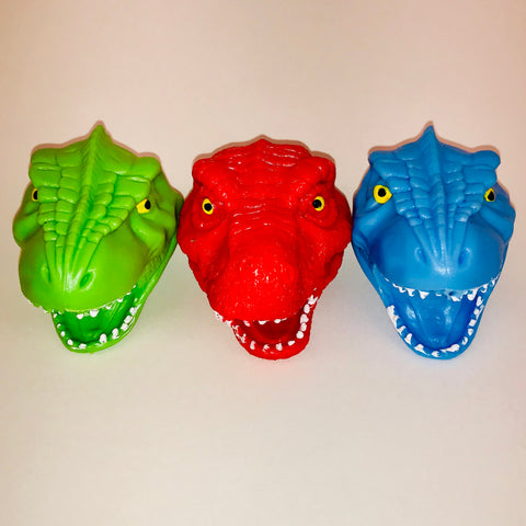 Dinosaur Head Squish Toy (Each)