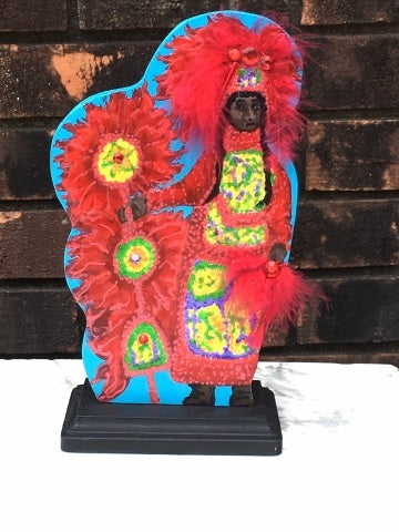 Red Mardi Gras Indian (Each)