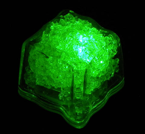LED Green Ice Cube