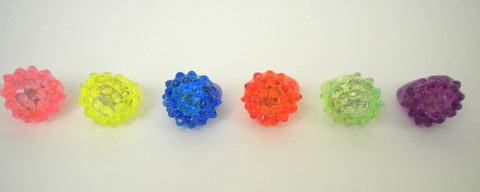 LED Assorted Color Bubble Ring with Multicolor Lights