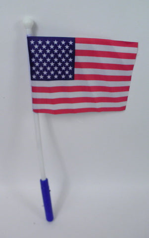 American Flag with LED Handle