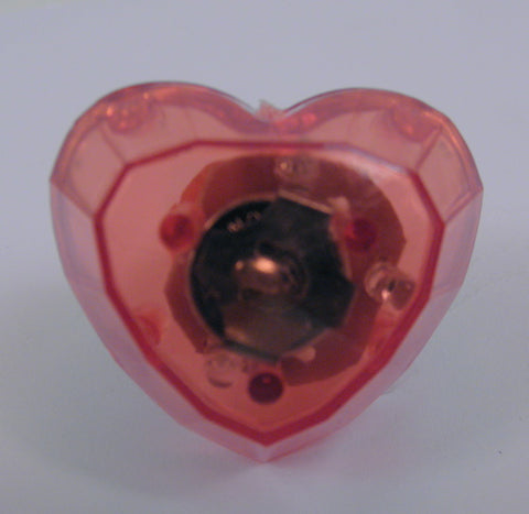 LED Red Heart Ring