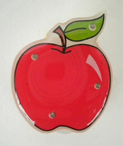 LED Apple Magnet Pin