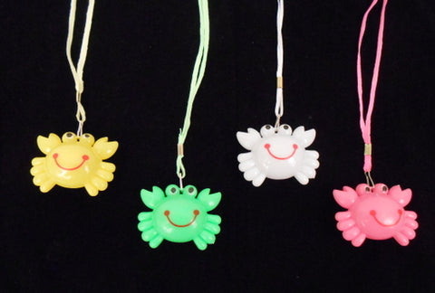 LED Crab Necklace - Assorted Colors
