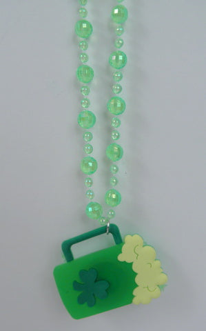 LED Shamrock Necklace (Each)