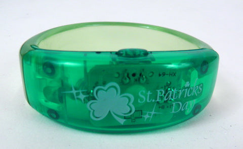 St. Patrick's LED Light-Up Bracelet