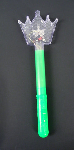 Light-Up Crown Wand - Assorted Colors