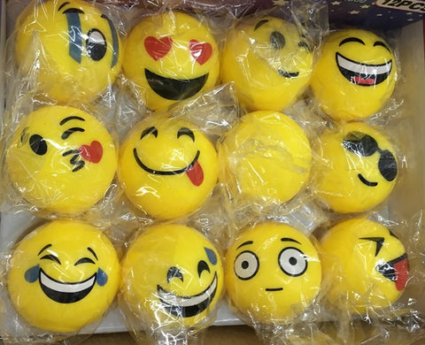 "2"" LED Emoticon Bounce Ball"
