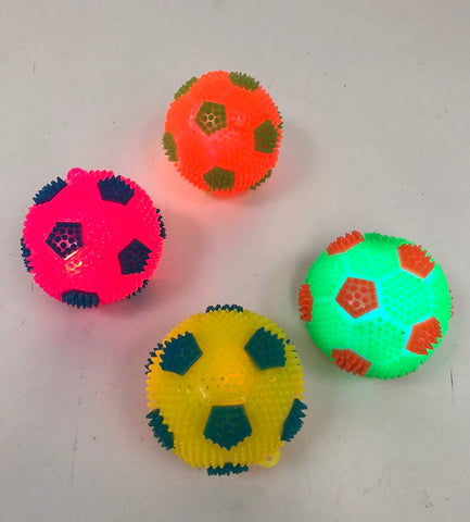 "2.5"" Soccer Bounce Ball - Assorted Colors"