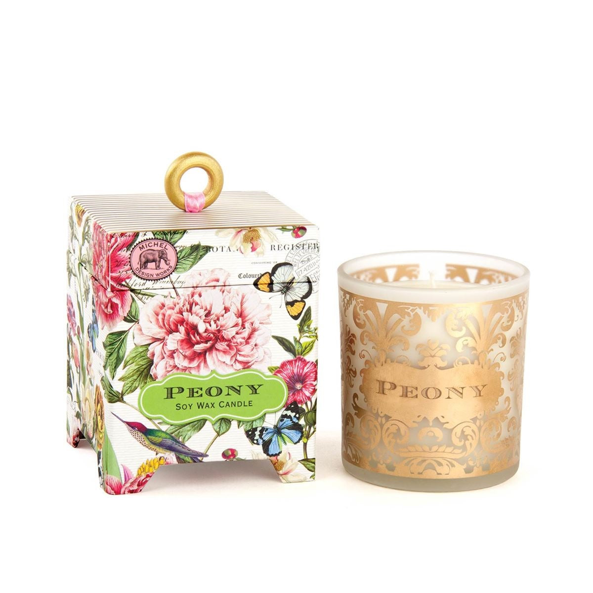 Peony Soy Wax Candle 6.5oz (each)
