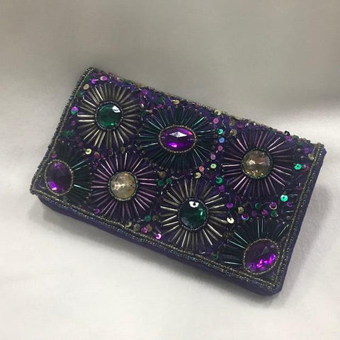 "Mardi Gras Fireworks Clutch Purse 4.5"" x 8"" (Each)"