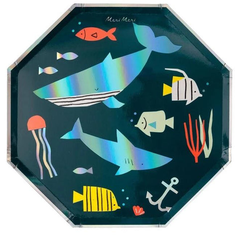 Under The Sea Dinner Plate (Pack)