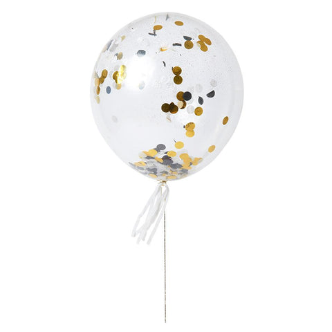 Shine Confetti Balloon Kit (Pack of 8)