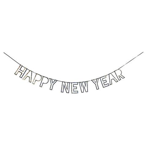 Silver New Year Garland (Each)