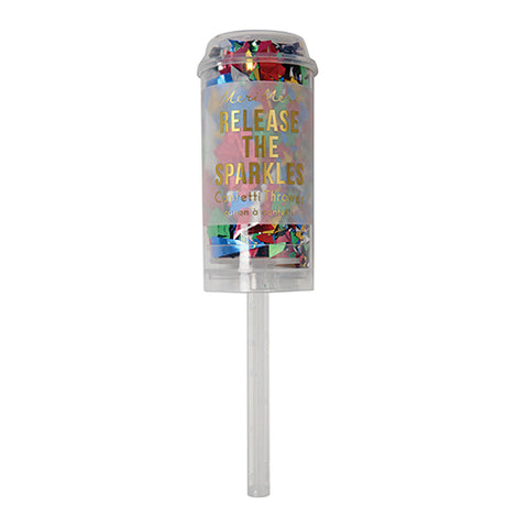Multi-Color Confetti Popper (Each)
