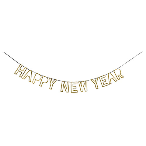 Gold New Year Garland (Each)