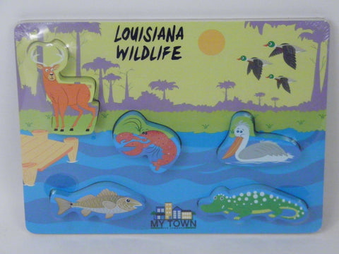 Louisiana Wildlife Puzzle (Each)