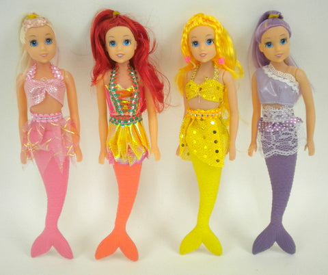 "Mermaid Doll 9"" (Each)"