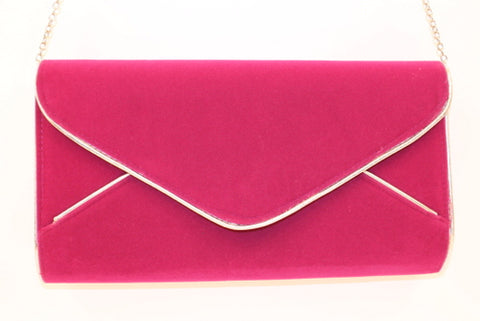 Hot Pink Envelope Clutch (Each)