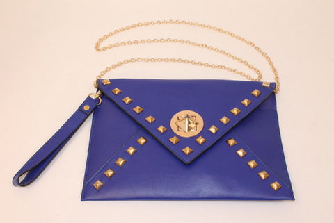 Blue Studded Purse (Each)