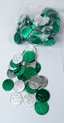 St. Patrick's Day Coin - 4 Styles (Gross)