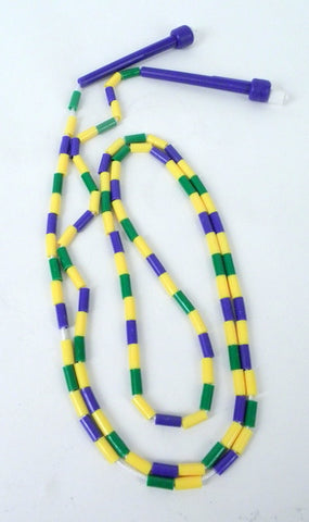 Purple Green and Yellow Jump Rope (Each)