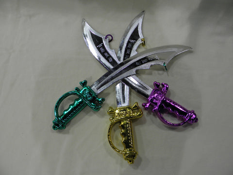 Pirate Sword Assorted Colors (Each)