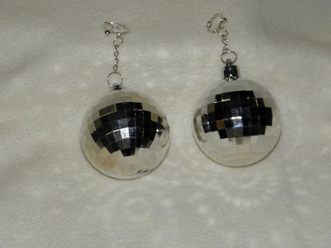 Disco Ball Earrings (Pair)