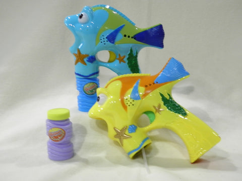 Fish Bubble Gun - Battery Operated (Each)