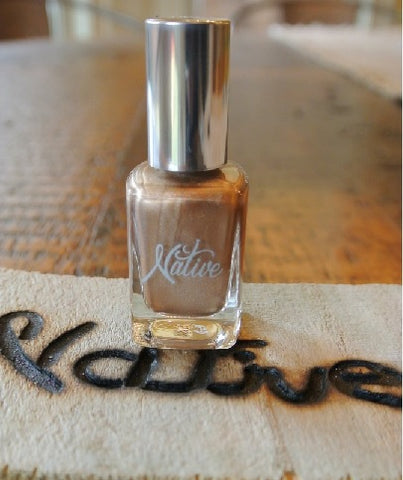 Native Nail Polish - Gold Lame (Each)