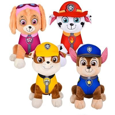 "19"" Laying Paw Patrol Character (Each)"