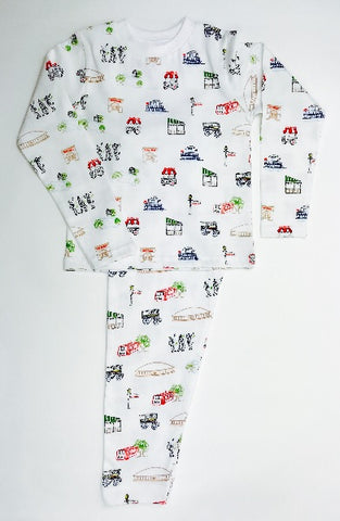 Nola Kids Organic Cotton Pajama Set  (Each)