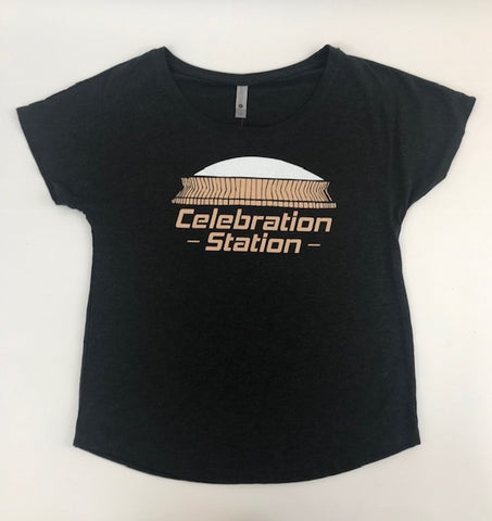 Celebration Station Ladies Dolman T-Shirt (Each)
