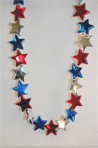 "42"" Red, Blue, and Silver Stars (10 Dozen)"