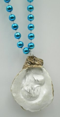 "33"" Oyster Medallion Bead (Each)"