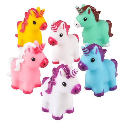 "2"" Rubber Unicorn (Dozen)"