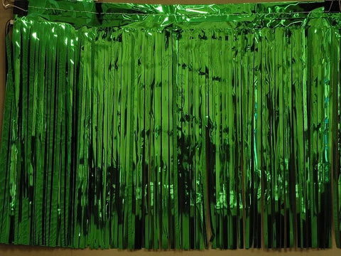 "'10'' x 15"" Green Fringe - 1 Ply (EACH)'"