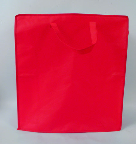 "Red Zipper Bag 18"" x 20"" (Each)"