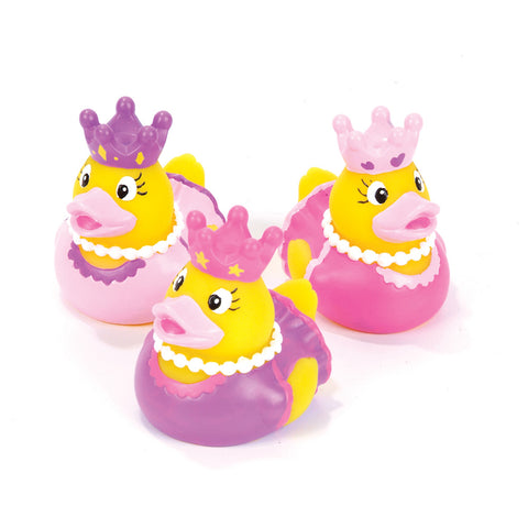 "Princess Rubber Ducky 2"" (Dozen)"