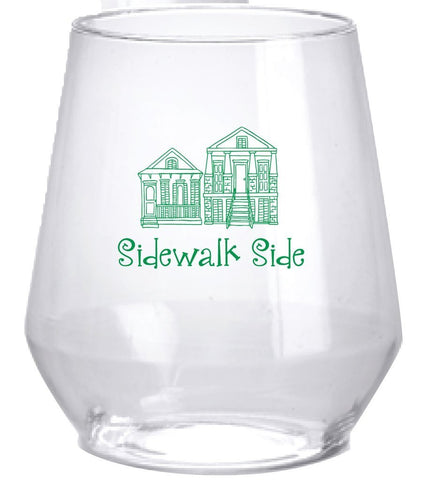Sidewalk Side Stemless Wine Glass (Pack of 6)