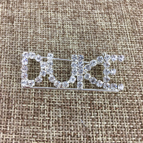 Rhinestone Duke Pin (Each)