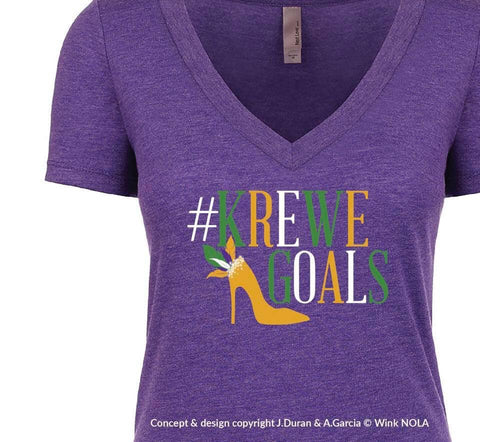 Krewe Goals with Shoe T-Shirt (Each)