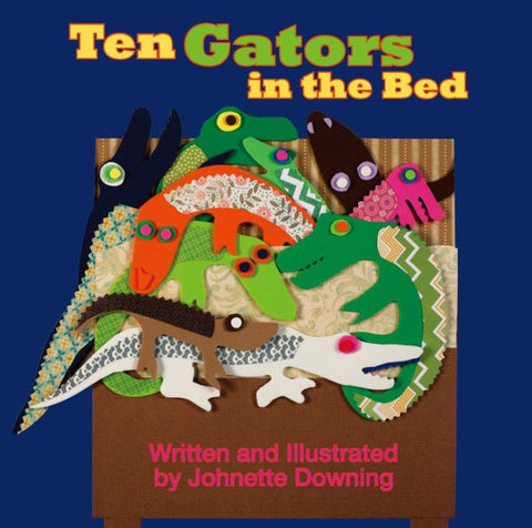 Ten Gators In The Bed (Each)
