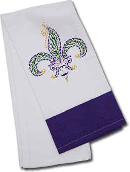Jester Mardi Gras Kitchen Towel (Each)